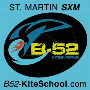 B52 Kitesurfing School in Saint Martin SXM Caribbean